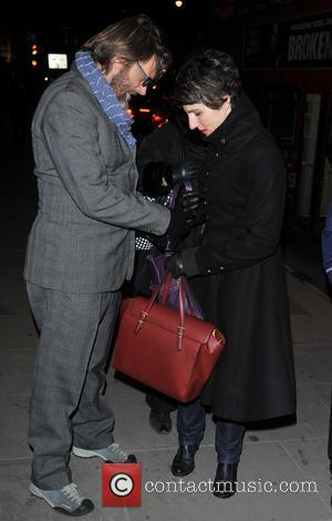 Tamsin Greig and Richard Leaf - Opening night of 'Macbeth' held at the Trafalgar Studios - Arrivals - London, England,...