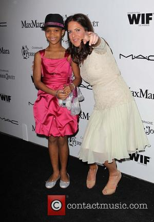 Quvenzhane Wallis and Cathy Schulman