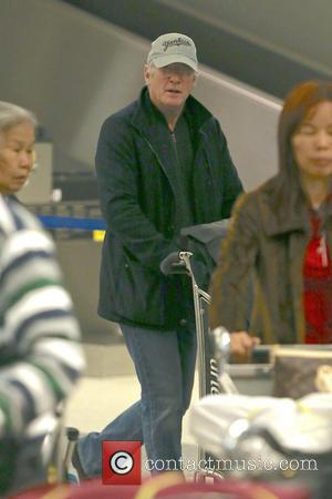 Richard Gere - Richard Gere seen arriving at LAX airport - Los Angeles, California, United States - Friday 22nd February...
