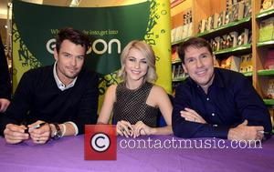 Nicolas Sparks, Josh Duhamel and Julianne Hough