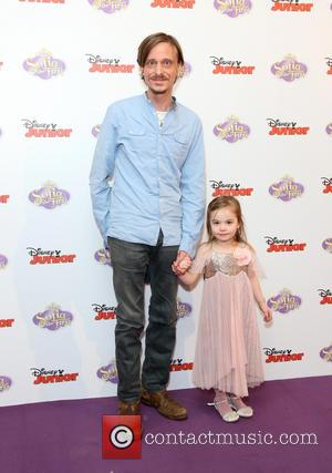 Mackenzie Crook and daughter Scout Crook - Sofia the First launch - London, United Kingdom - Friday 22nd February 2013