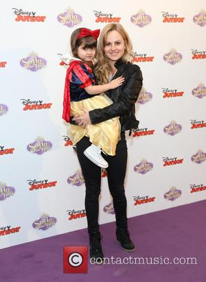 Tina O'Brien with her daughter Scarlett - Sofia The First TV series launch - London, United Kingdom - Friday 22nd...