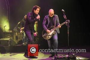 Pat Monahan, Jimmy Stafford and Train