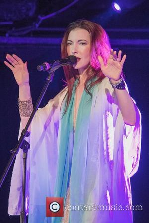 Chrysta Bell - David Lynch presents Chrysta Bell  at Le Poisson Rouge - New York, New York, United States...