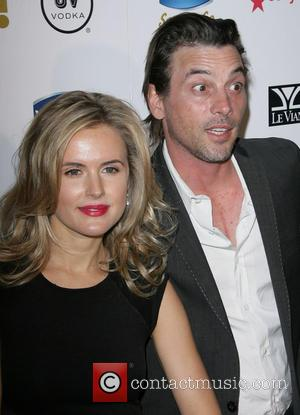 Skeet Ulrich and Amelia Jackson-gray