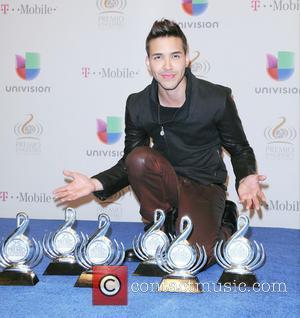 Prince Royce - 25th Anniversary Of Univision's 'Premio Lo Nuestro A La Musica Latina' held at the American Airline arena...