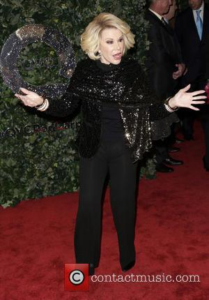 Joan Rivers - QVC Red Carpet Style at Four Seasons Hotel - Beverly Hills, California, United States - Friday 22nd...