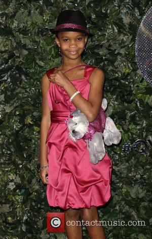 Quvenzhane Wallis - QVC Red Carpet Style at Four Seasons Hotel - Beverly Hills, California, United States - Friday 22nd...