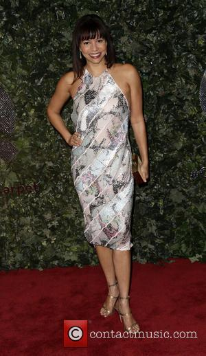 Gloria Reuben - QVC Red Carpet Style at Four Seasons Hotel - Arrivals - Beverly Hills, California, United States -...