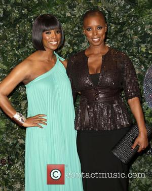 Tasha Smith and Sidra Smith - QVC Red Carpet Style at Four Seasons Hotel - Arrivals - Beverly Hills, California,...