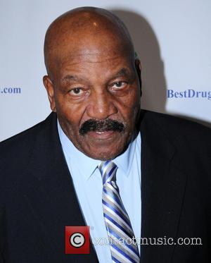 Jim Brown - Imagination Heals Charity Event at the Beverly Hilton Hotel - Arrivals - Los Angeles, California, United States...