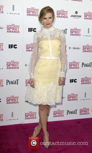 Brit Marling - 2013 Film Independent Spirit Awards at Santa Monica Beach - Arrivals - Los Angeles, California, United States...