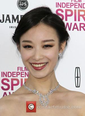 Ziyi Zhang - 2013 Film Independent Spirit Awards at Santa Monica Beach - Arrivals - Los Angeles, California, United States...