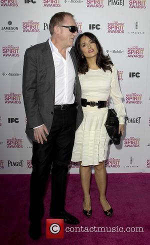 Francois-henri Pinault and Salma Hayek