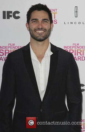 Tyler Hoechlin - 2013 Film Independent Spirit Awards at Santa Monica Beach - Arrivals - Los Angeles, California, United States...
