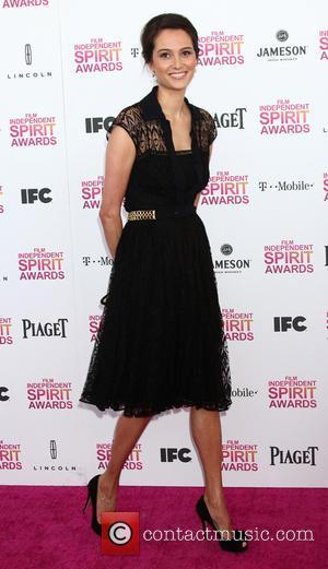 Emma Heming - 2013 Film Independent Spirit Awards at Santa Monica Beach - Arrivals - Santa Monica, CA, United States...