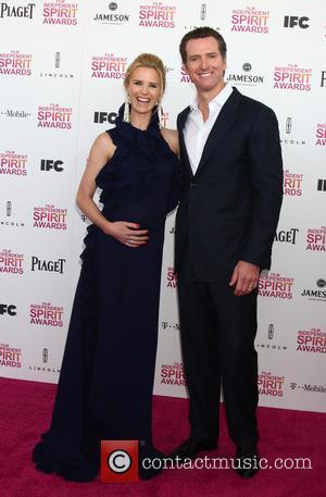 Jennifer Siebel and Gavin Newsom