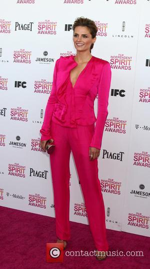 Stana Katic - 2013 Film Independent Spirit Awards at Santa Monica Beach - Arrivals - Santa Monica, CA, United States...