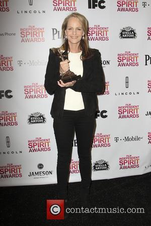 Helen Hunt - 2013 Film Independent Spirit Awards at Santa Monica Beach - Press Room at Independent Spirit Awards -...