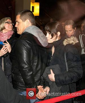 Josh Brolin and Eden Brolin