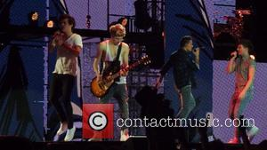 Harry Styles, Niall Horan, Lou Tomlinson and Liam Payne - One Direction kick off their Take Me Home World Tour...