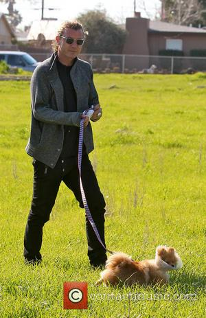 Gavin Rossdale and Dog