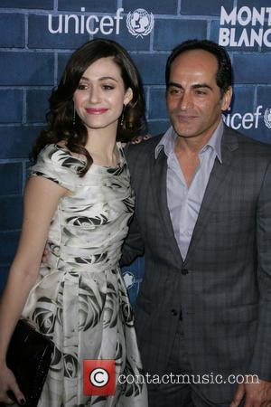 Emmy Rossum and Navid Negahban