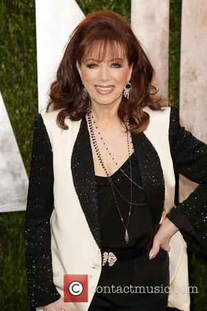 Jackie Collins - 2013 Vanity Fair Oscar Party at Sunset Tower - Arrivals - West Hollywood, California, United States -...