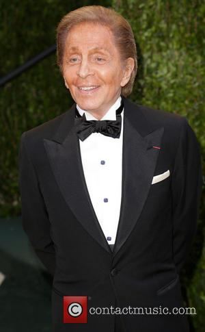 Valentino - 2013 Vanity Fair Oscar Party at Sunset Tower - Arrivals - West Hollywood, California, United States - Saturday...
