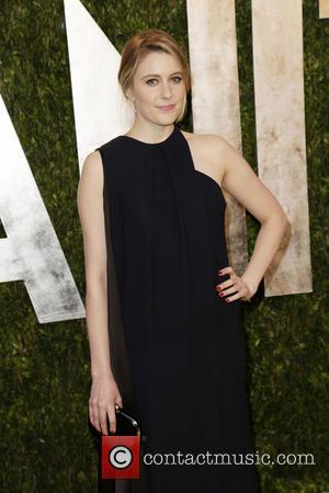 Greta Gerwig - 2013 Vanity Fair Oscar Party at Sunset Tower - Arrivals - West Hollywood, California, United States -...