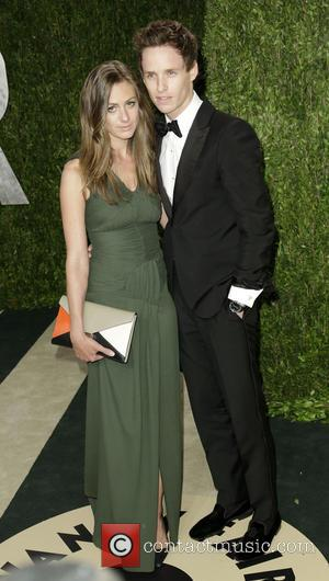 Eddie Redmayne (R), Hannah Bagshawe and Hanna Bagshawe - 2013 Vanity Fair Oscar Party at Sunset Tower - Arrivals -...