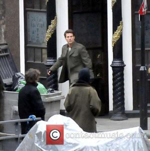 Tom Cruise - Tom Cruise filming a scene for the...