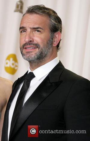 Jean Dujardin - Oscars Press Room at Oscars - Los Angeles, California, United States - Sunday 24th February 2013