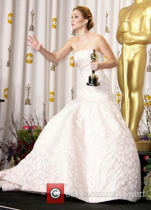 Jennifer Lawrence - Oscars Press Room at Oscars - Los Angeles, California, United States - Sunday 24th February 2013