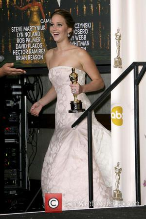 Jennifer Lawrence wins Best Actress Oscar