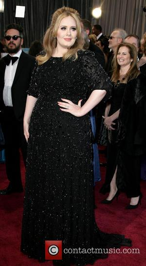 Adele - The 85th Annual Oscars at Hollywood & Highland Center - Red Carpet Arrivals - Los Angeles, California, United...