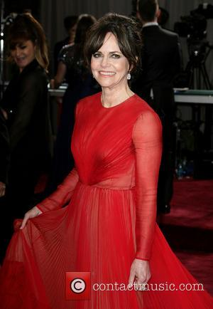 Sally Field - Oscars Red Carpet Arrivals at Oscars - Los Angeles, California, United States - Sunday 24th February 2013