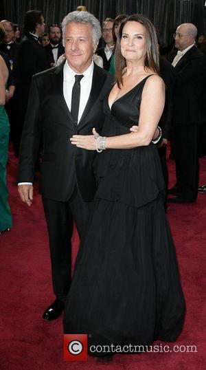 Dustin Hoffman and Lisa Hoffman - Oscars Red Carpet Arrivals at Oscars - Los Angeles, California, United States - Sunday...
