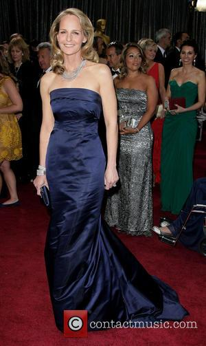Helen Hunt - Oscars Red Carpet Arrivals at Oscars - Los Angeles, California, United States - Sunday 24th February 2013