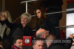 Victoria Beckham, Sandra Beckham and Joanne Beckham