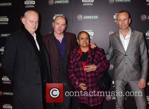 Brian Maguire, Gavin Friday, Elia Escobedo Garcia and Mark Mcloughl