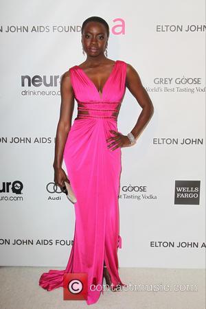 Danai Gurira - Annual Elton John AIDS Foundation's Oscar Party - Los Angeles, California, United States - Sunday 24th February...