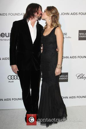 Dave Grohl and Jordyn Blum - Annual Elton John AIDS Foundation's Oscar Party - Los Angeles, California, United States -...