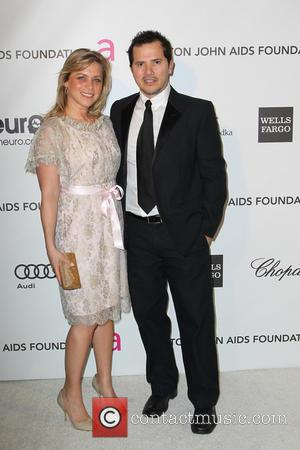 John Leguizamo and Justine Maurer - Annual Elton John AIDS Foundation's Oscar Party - Los Angeles, California, United States -...