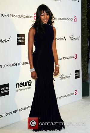Naomi Campbell - Annual Elton John AIDS Foundation's Oscar Party - Los Angeles, California, United States - Sunday 24th February...