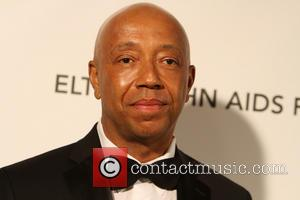 Russell Simmons - 21st Annual Elton John AIDS Foundation's Oscar Viewing Party - Los Angeles, California, United States - Sunday...