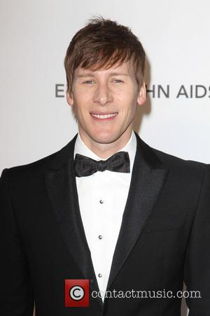 Dustin Lance Black - 21st Annual Elton John AIDS Foundation's Oscar Viewing Party - Los Angeles, California, United States -...