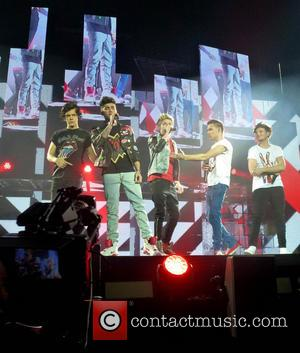 Niall Horan - One Direction perform at London's O2 Arena