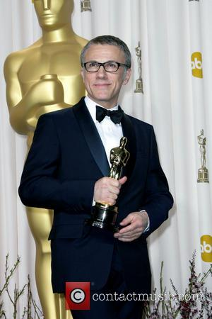 Christoph Waltz Oscars 2013