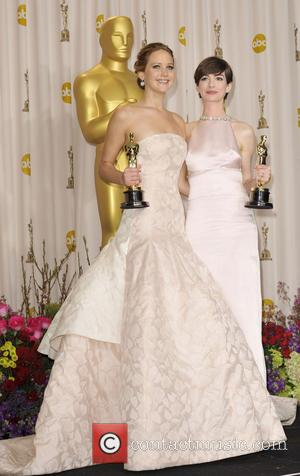 Anne Hathaway and Jennifer Lawrence
